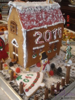 Kurabiye Ev-Gingerbread House 1