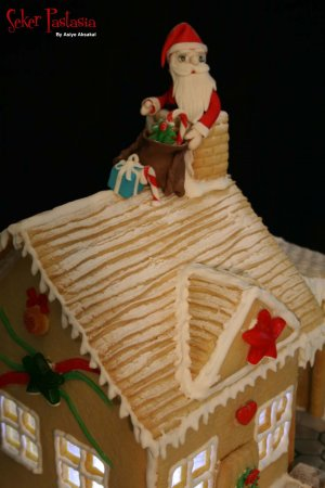 Gingerbread House- Kurabiye Ev 30 x 30
