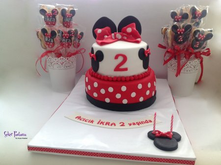 İkra Minnie Mouse Pasta